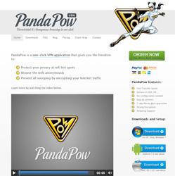 PandaPow Webseite