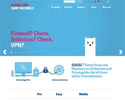 Suissl Webseite