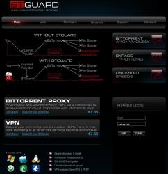 BTGuard Webseite